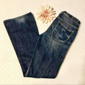 Silver Jeans Isabel Boot Cut Stretch Denim